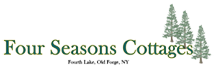 Four Seasons Cottages – Old Forge, NY Logo